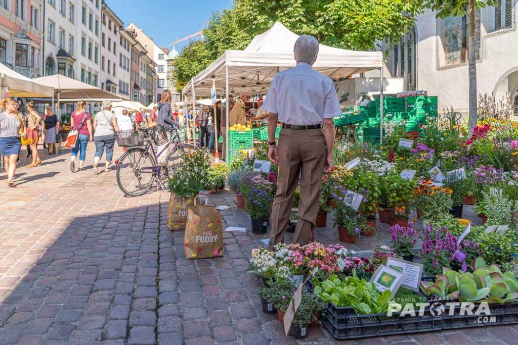 Wochenmarkt Schaffhausen