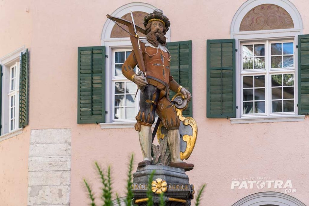 Brunnenfigur Schaffhausen
