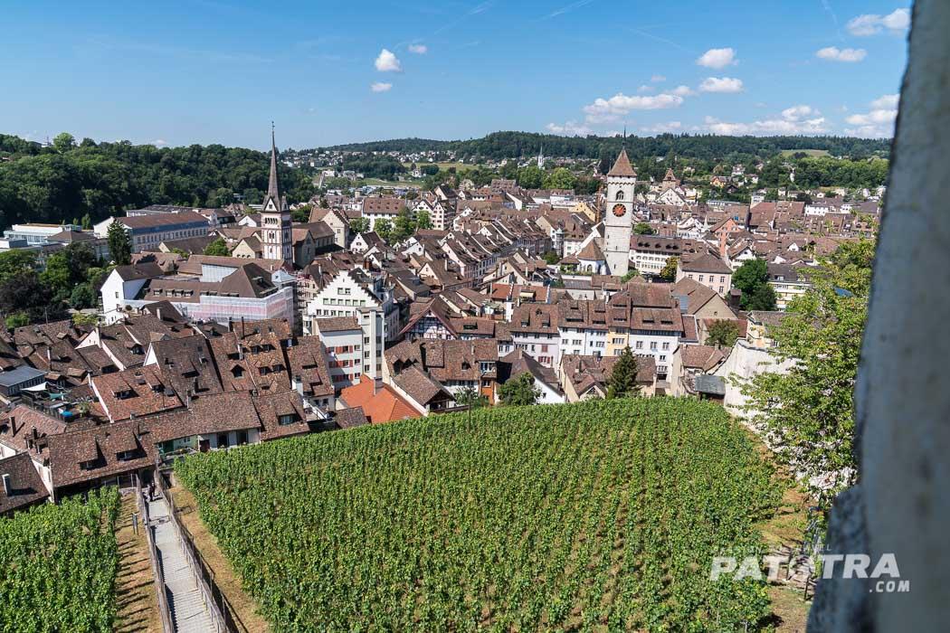 Blick über Schaffhausen