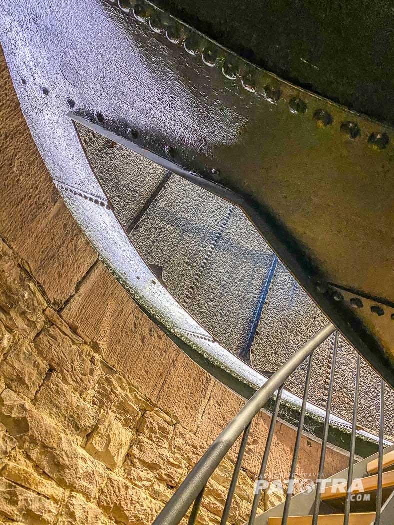 Wassertank im Wasserturm