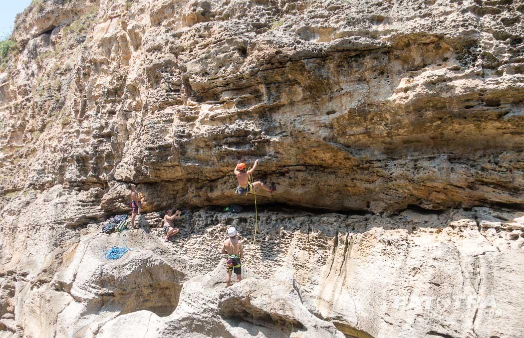 Klettern auf Gozo