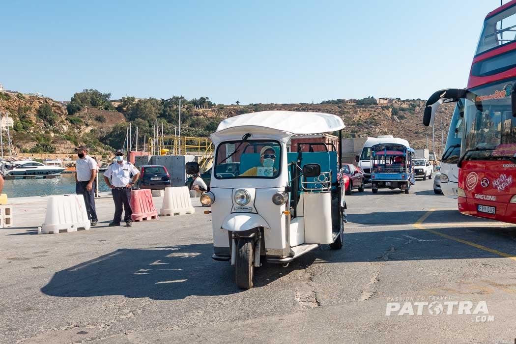 Tuktuk auf Gozo