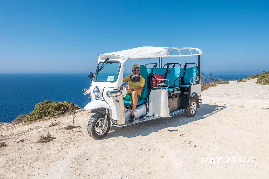 Mit dem Tuktuk Gozo entdecken