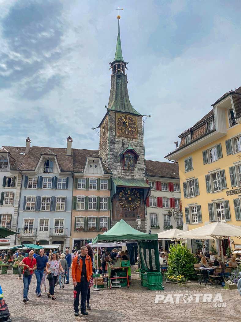 Markt in Solothurn